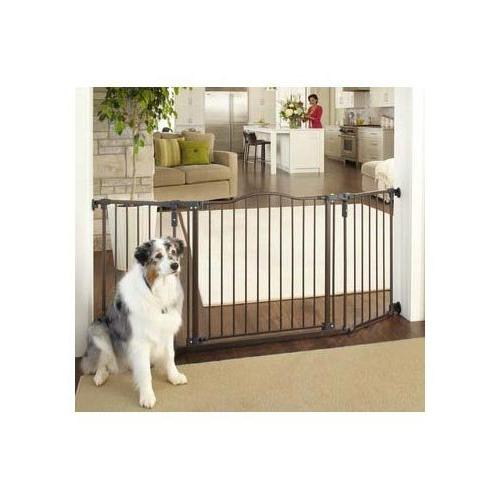North States Deluxe Décor Wall Mounted Matte Bronze Gate 37