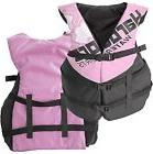 Women's Deluxe Pink Adult Life Jacket PFD Type III Coast