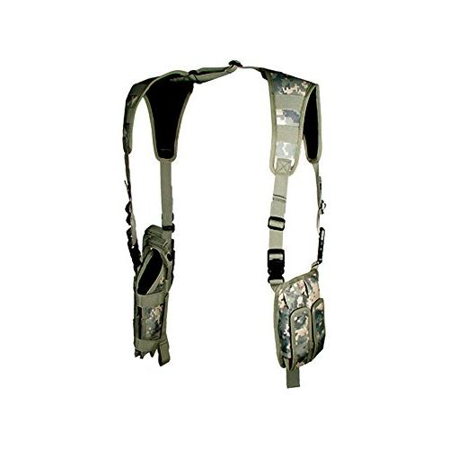 UTG LE Grade Vertical Shoulder Holster, Army Digital