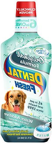 Dental Fresh Water Additive - Original Formula For Dogs -