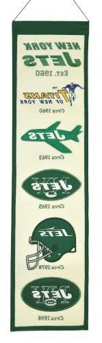 NFL New York Jets Heritage Banner