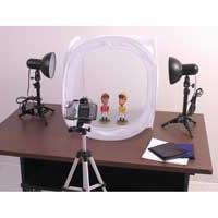 RPS Desktop Studio 20X20 Inch Tent With Lights and Stands