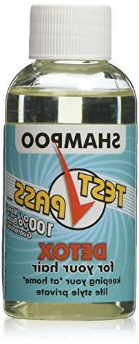 Test Pass Detox Shampoo - Single Use, NET 2 FL. OZ