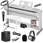Yamaha DGX-660 Portable Grand Digital Piano - White COMPLETE