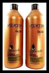 Redken Diamond Oil Shampoo and Conditioner Liter Duo 33.8 ea
