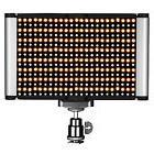 Neewer Dimmable Bi-color LED with U Bracket and Barndoor