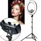 """New 18"""" Dimmable Photo Video Continuous Ring Light Kit Incl"""