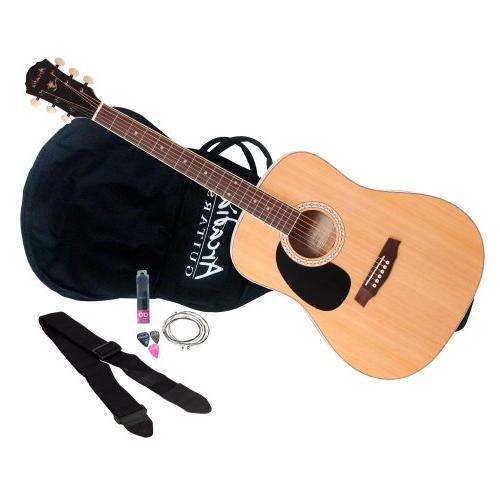 "Arcadia DL38NA PAK 38"" 3/4 size Dreadnaught Acoustic Guitar"