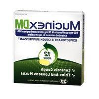MUCINEX DM TABS E/R 600 MG 20