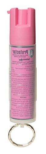 SABRE Dog Spray - Protector Dog Deterrent - Pink Keychain