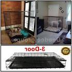 Dog Crate Cage House Extra Large Giant XXL Folding Wire