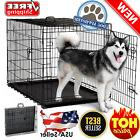 Extra Large Dog Crate Kennel Pet Cage House Metal Playpen