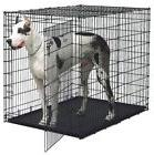 XXL Dog Kennel Crates Extra Large Travel Crate Wire Safe