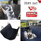 Dog Pet Car SUV Van Back Rear Bench Seat Cover Waterproof