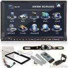 "7"" Double 2 Din Car DVD Player Radio Ipod TV None GPS Head"