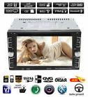 "Double 2Din 6.2"" Car Stereo DVD CD MP3 Player HD In Dash"