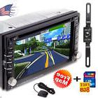 "HD 6.2"" Double 2Din In Dash Car Stereo DVD Player GPS"