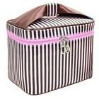 Women Double Cosmetic Bag Travel Makeup Case Toiletry