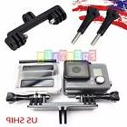 Double Dual Sport Camera Holder Handle Grip Monopod Mount