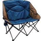 Double Folding Chair  Portable Camping Camp Beach Chairs