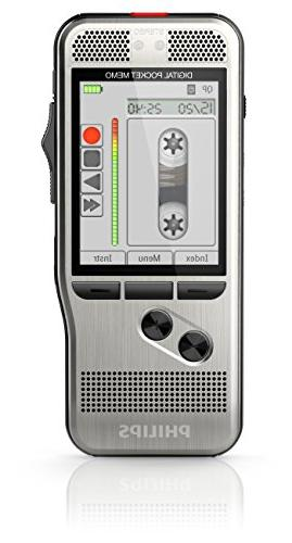 Philips Pocket Memo 7000 Digital Recorder with Slide Switch