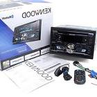Kenwood DPX502BT Double DIN CD Bluetooth SiriusXM Car Stereo