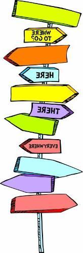 Eureka Dr. Seuss Blank Directional Signs Mini Bulletin Board