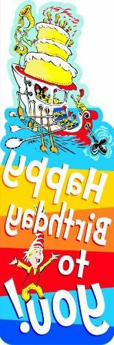 Eureka Dr. Seuss Bookmarks, Set of 36, Happy Birthday