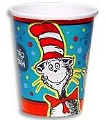 30 pc Dr Seuss Cat in the Hat Party Balloon Kit: 12 Red 12
