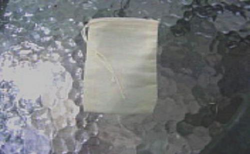 """Drawstring Bags Unbleached Cotton Muslin 3"""" x 5"""" 100 each"""