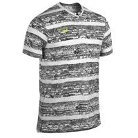 Nike Dri-Fit Touch Printed Henley - Mens - White/Volt