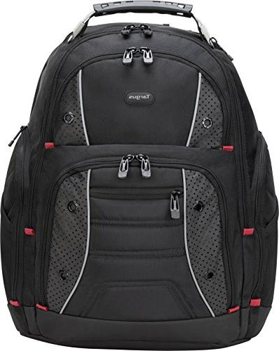 Drifter II Backpack for 16-Inch Laptop, Black/Red