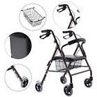 """Drive Medical Rollator Walker Folding w/ 6""""Wheel Basket Soft"""