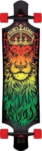 Santa Cruz Drop-Thru Lion God 10x40 Complete Longboard