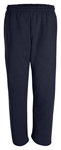 Gildan Mens 9.3 oz. DryBlend 50/50 Sweatpants G123 -NAVY L