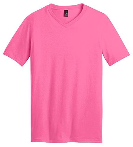 District Young Mens Concert V-Neck Tee Shirt