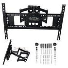 DUAL ARM FULL MOTION TILT LCD LED TV WALL MOUNT BRACKET 42