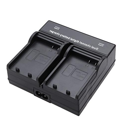 Dual Channel Digital Battery Charger for Sony NP-F330, NP-