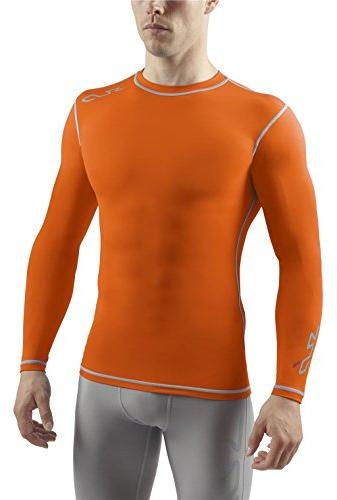 DUAL Men's Compression Base Layer Long Sleeve Top - Royal