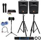 "Rockville Pro Dual 8"" Karaoke Machine/System 4 Youtube/iPad/"