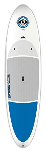 DURA-TEC Stand Up Paddle Board, 10.4-Inch, White/Blue