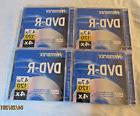 Memorex DVD-R Lot of 4 New Sealed 4.7 GB 120 Minute Video 4X