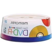 Memorex DVD Recordable Media - DVD-R - 16x - 4.70 GB - 25