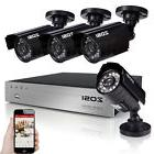 ZOSI 8 Channel 1080N DVR 1500TVL Outdoor IR Home CCTV