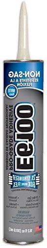 E6100 252051 Pro-Grade Adhesive Cartridge 10.2 fl oz White