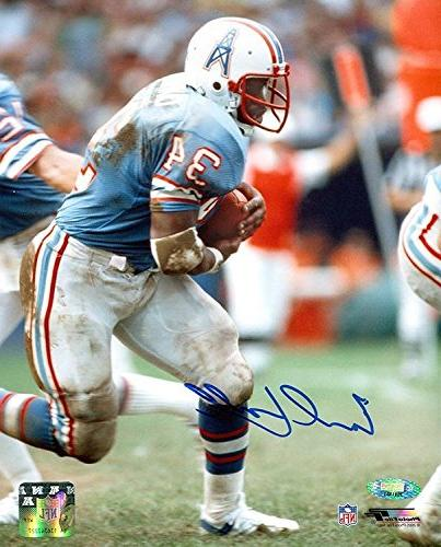 TRISTAR Earl Campbell Autographed Houston Oilers Running