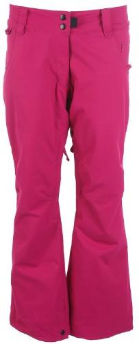 Ride Eastlake Snowboard Pants Cranberry Twill Womens Sz L