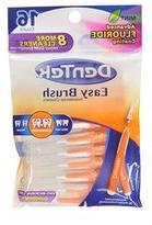 Dentek Easy Brush Interdental Cleaners, 16 Count