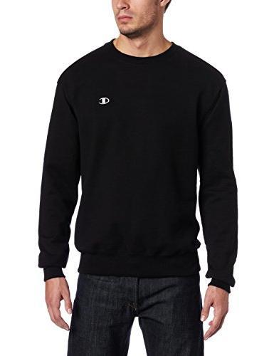 Champion Men's Pullover Eco Fleece Sweatshirt, Oxford Gray,