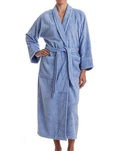 Unisex Terry Cloth Robe - 100% Egyptian Cotton Hotel/Spa by